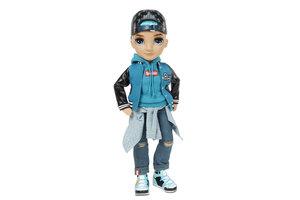 MGA Entertainment Rainbow High Fashion Doll- River Kendall (Teal Boy)