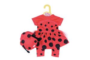 Zapf Dolly Moda Lovely Lady Bug Outfit Poppenkledingset
