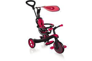 Globber Trike Explorer 4-in-1 - rood