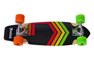 "Move Longboard Cruiser 23"" - Neon"