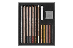 Caran d'Ache Caran d'Ache Art by Flesh & Earth Set - 15stuks in karton etui