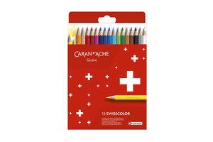 Caran d'Ache Caran d'Ache Kleurpotlood Swisscolor - 18stuks in karton etui