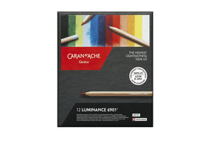 Caran d'Ache Caran d'Ache Kleurpotlood Artist Luminance 6901 - 12stuks in karton etui