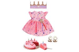 Zapf BABY born Deluxe Happy Birthday Set Poppenkledingset