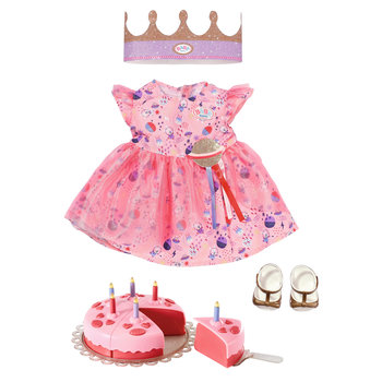Zapf BABY born Deluxe Happy Birthday Set Poppenkledingset