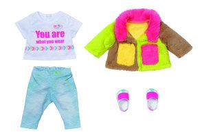 Zapf BABY born Deluxe Colour Coat Poppenkledingset