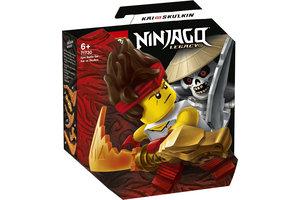 LEGO LEGO NINJAGO Epische Strijd set - Kai tegen Skulkin - 71730