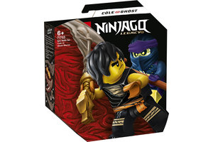 LEGO LEGO NINJAGO Epische Strijd set - Cole tegen Spookstrijder - 71733