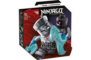 LEGO LEGO NINJAGO Epische Strijd set - Zane tegen Nindroid - 71731
