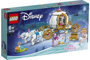 LEGO LEGO Disney Princess Assepoesters koninklijke koets - 43192