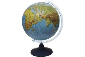 Buki IQ Wereldbol met geografisch reliëf en LED - 32cm
