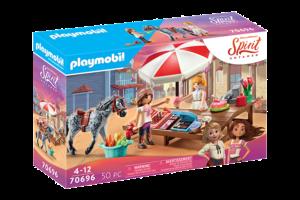 Playmobil PM DreamWorks Spirit Untamed - Miradero Snoepwinkel 70696