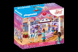 Playmobil PM DreamWorks Spirit Untamed - Miradero Ruitersportwinkel 70695