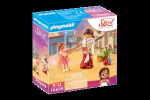Playmobil PM DreamWorks Spirit Untamed - Jonge Lucky & Milagro 70699