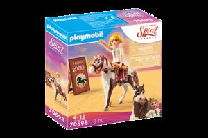 Playmobil PM DreamWorks Spirit Untamed - Rodeo Abigail 70698