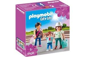 Playmobil PM City life - Winkelende meisjes 9405
