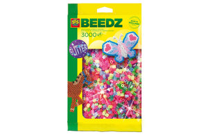 SES Creative SES Creative Beedz Mix strijkkralen 3000 glitter