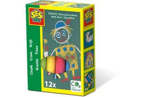 SES Creative SES Creative Krijt 12 kleuren