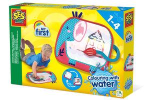 SES Creative SES Creative My First Kleuren met water - Kleurmat olifant