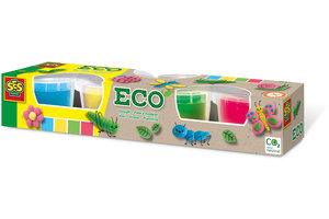 SES Creative SES Creative Eco klei 4x90gr