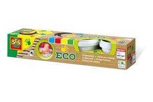 SES Creative SES Creative Eco vingerverf 4 kleuren