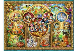 Ravensburger Puzzel (500stuks) - Disney - Famous Disney characters