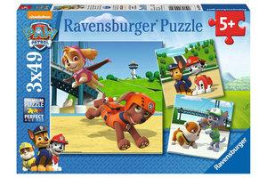 Ravensburger Puzzel (3x49stuks) - Paw Patrol - Team op 4 poten