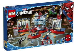 LEGO LEGO Marvel Super Heroes Aanval op de Spider schuilplaats - 76175