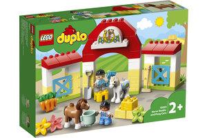 LEGO LEGO DUPLO Paardenstal en pony's verzorgen - 10951