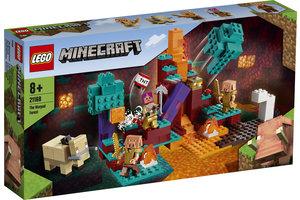 LEGO LEGO Minecraft Het verwrongen bos - 21168