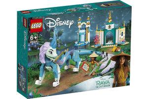 LEGO LEGO Disney Princess Raya en Sisu draak - 43184