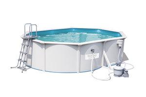 Bestway Hydrium Oval Pool 5,0 x 3,60m x 1,20 m + zandfilter