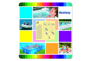 Bestway Flowclear reparatie plakker voor onderwater - 10stuks