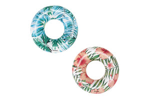 Bestway Tropical Palms Swim Ring 1,19m