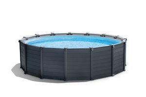 Intex Intex Grafite Panel Pool Set 478x124cm
