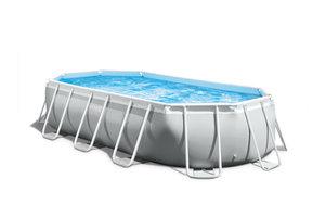 Intex Intex Ovaal Frame Pool 503x274x122cm