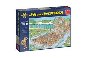 Jumbo Jan van Haasteren Pool Pile-Up 2000 pcs Legpuzzel 2000 stuk(s)