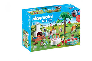 Playmobil PM City Life - Familiefeest met barbecue 9272