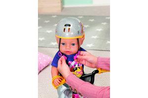Zapf BABY born poppen fietshelm