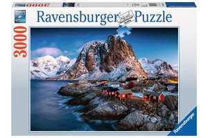 Ravensburger Puzzel (3000stuks) - Hamnoy, Lofoten