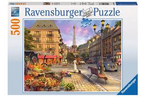 Ravensburger Puzzel (500stuks) - Wandeling door Parijs