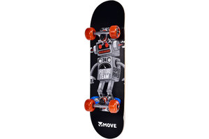 "Move Skateboard 24"" - Robot"