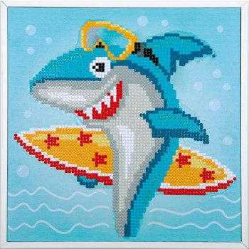 Verachtert Diamond Painting Kit - Surfende haai