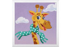 Verachtert Diamond painting Kit - Giraf