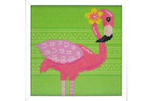 Verachtert Diamond Painting Kit - Flamingo