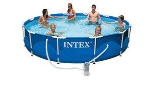Intex Metal Frame Pool 366 x 76 cm met filterpomp