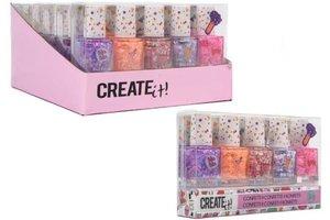 Create It! Nagellak Confetti 5-pack