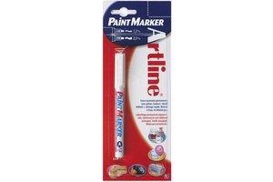 "Artline Permanente Marker ""440"" extra fijne punt, lijndikte 1,2mm - wit"