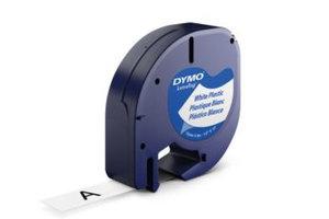 DYMO DYMO 12mm LetraTAG Plastic tape labelprinter-tape