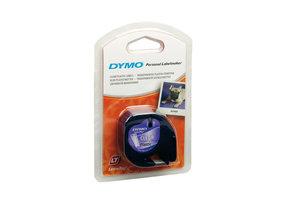 DYMO DYMO S0721530 labelprinter-tape Zwart op zilver